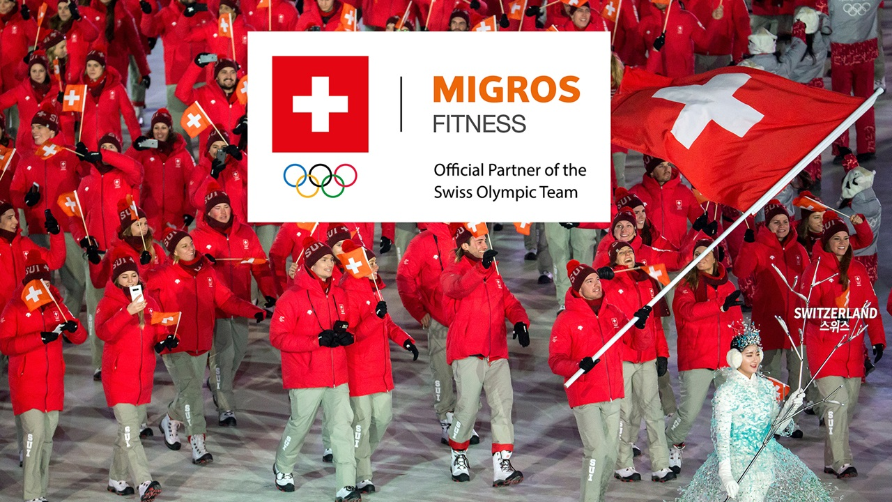 Migros Fitness - collaboration avec Swiss Olympic